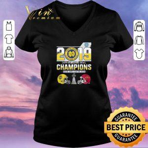 Awesome 2019 Camping World Bowl Champions Notre Dame Fighting Irish shirt sweater 1