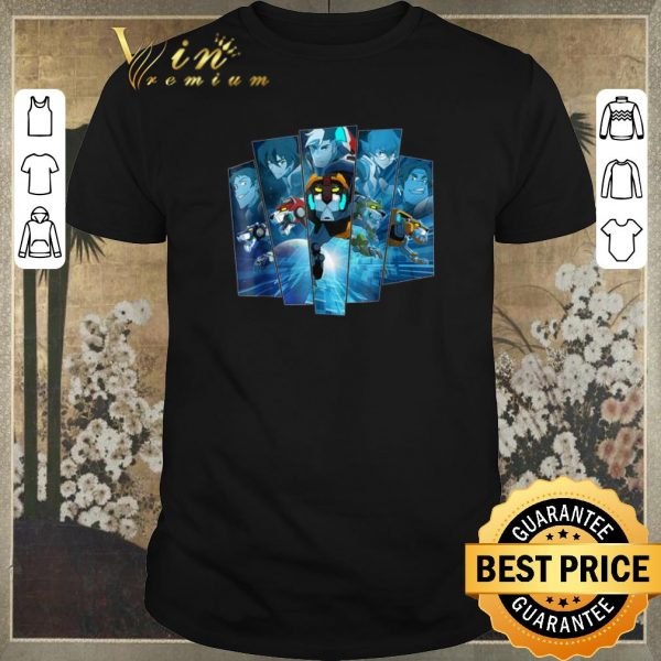 Awesome 5 Lions In Blue Voltron Legendary Defender shirt sweater