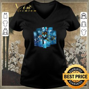 Awesome 5 Lions In Blue Voltron Legendary Defender shirt sweater 1
