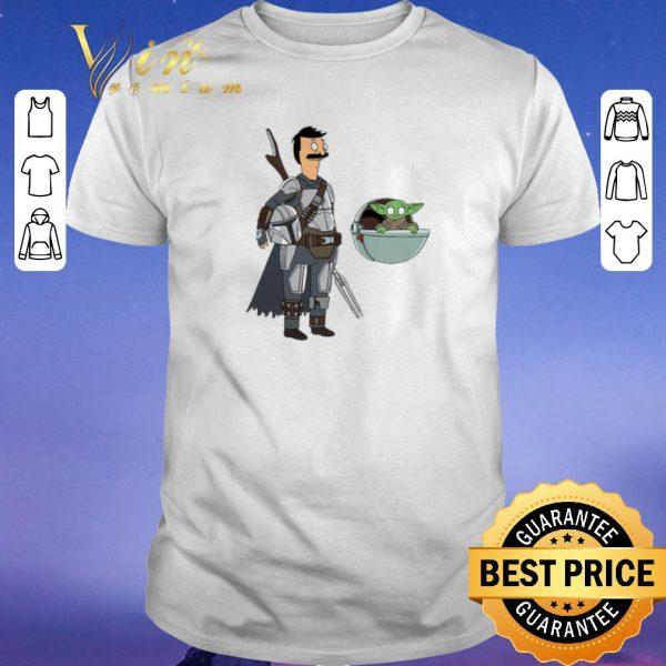 Awesome Bob Fett The Mandalorian Mashup Bob's Burgers shirt sweater
