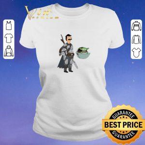 Awesome Bob Fett The Mandalorian Mashup Bob's Burgers shirt sweater 1