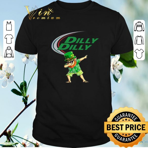 Awesome Dabbing Leprechaun Dilly Dilly St Patrick's Day 2020.png sweater