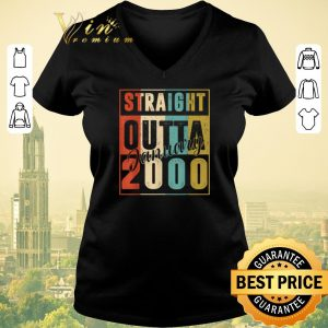 Awesome Straight Outta January 2000 Vintage shirt sweater 1