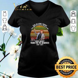 Awesome Thank memories Eddie Money 1949-2019 signed Take me home tonight shirt sweater 1