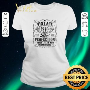 Awesome Vintage Genuine Quality 1970 Perfection The Man The Myth The Bad shirt sweater 1