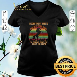 Awesome Vintage I'm Gonna Take My Horse To The Old Town Road shirt sweater 1