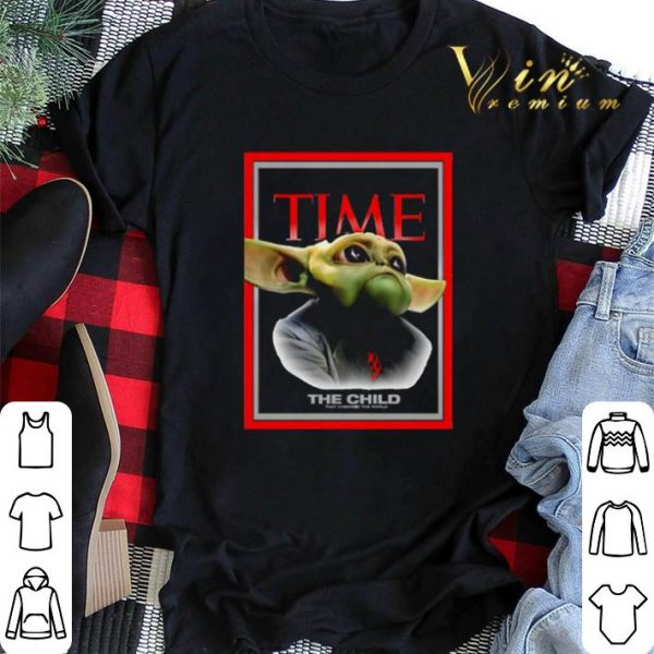Baby Yoda The child Time's People of the Year Issue shirt sweater