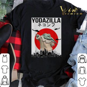 Baby Yodazilla Sunset shirt sweater 1