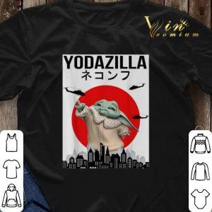 Baby Yodazilla Sunset shirt sweater 2