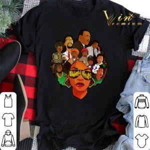 Black Women Powerful Roots Black History Month shirt sweater 1