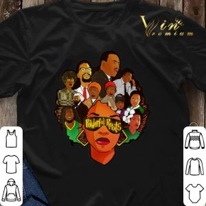 Black Women Powerful Roots Black History Month shirt sweater 2