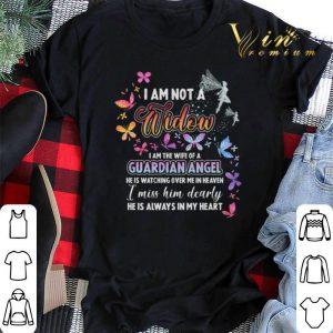 Butterfly i am not a widow i am the wife of a Guardian Angel shirt sweater