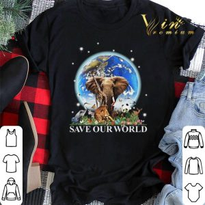 Earth elephant animals save our world.png sweater 1