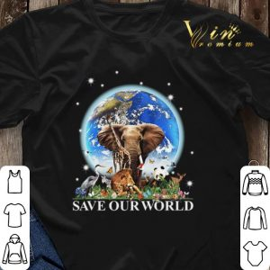 Earth elephant animals save our world.png sweater 2