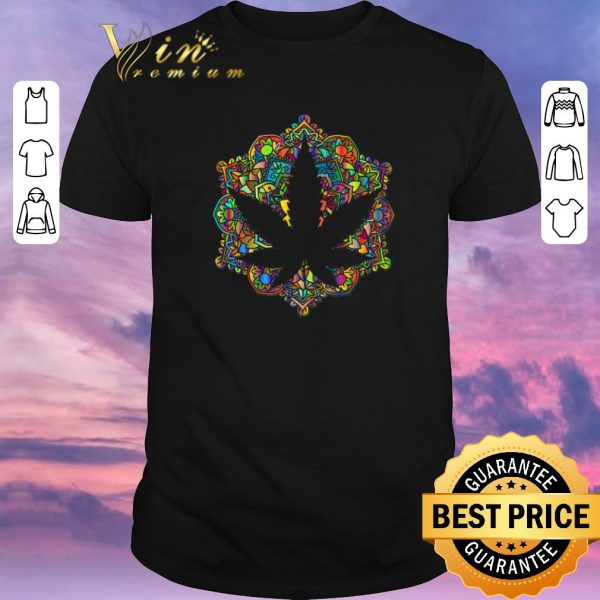 Funny Meditation lotus spiritual leaf weed shirt sweater