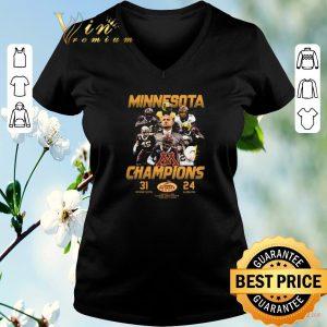 Funny Minnesota Golden Gophers Champions 31 24 Auburn Tigers shirt sweater