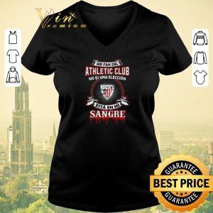 Funny Ser Fan Del Athletic Bilbao Club No Es Una Eleccion Esta En Mi shirt sweater 1