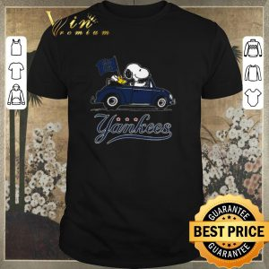 Funny Snoopy Driving Volkswagen New York Yankees shirt sweater