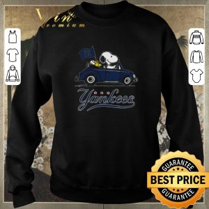 Funny Snoopy Driving Volkswagen New York Yankees shirt sweater 2