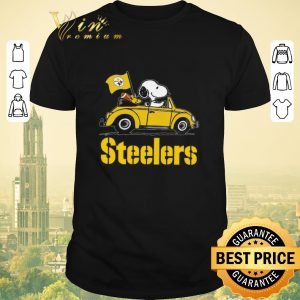 Funny Snoopy Driving Volkswagen Pittsburgh Steelers shirt sweater