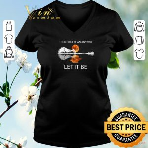 Funny There will be an answer The Beatles Let it be guitar lake shirt sweater