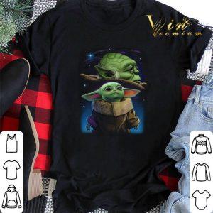 Galaxy Star Wars Baby Yoda and Master Yoda shirt sweater 1