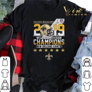Geaux Saints 2019 NFC South Division Champions New Orleans Saint shirt sweater 1