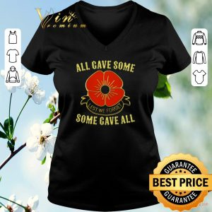 Hot All gave some lest we forget some gave all shirt sweater 1