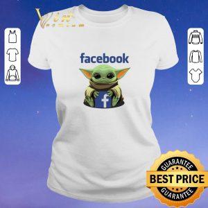 Hot Baby Yoda hug Facebook Star Wars shirt sweater 1