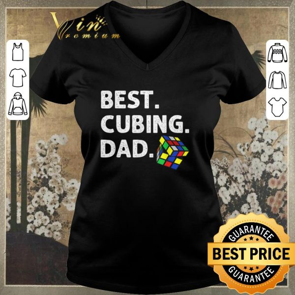 Hot Best Cubing Dad Puzzle shirt sweater