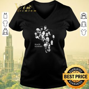 Hot Black History Month Famous Characters shirt sweater 1
