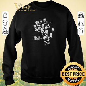 Hot Black History Month Famous Characters shirt sweater 2