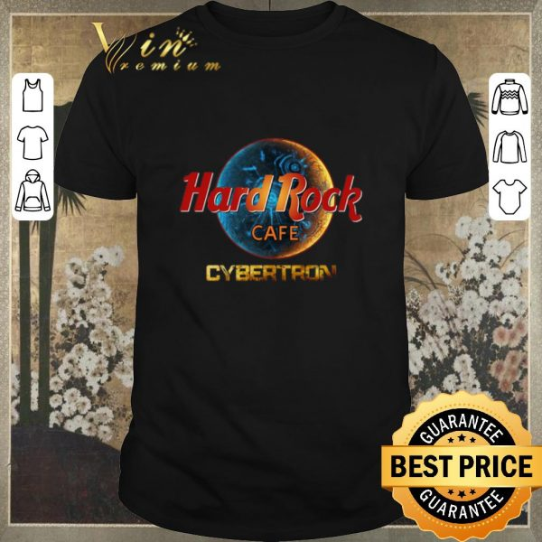 Hot Hard Rock Cafe Cybertron Transformer shirt sweater