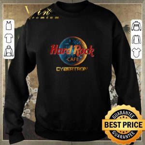 Hot Hard Rock Cafe Cybertron Transformer shirt sweater 2