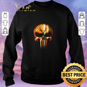 Hot Punisher Tennessee Volunteers American Flag shirt sweater 2