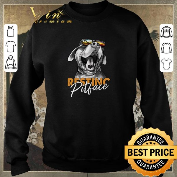 Hot Resting Pitchface Dog Lovers shirt sweater