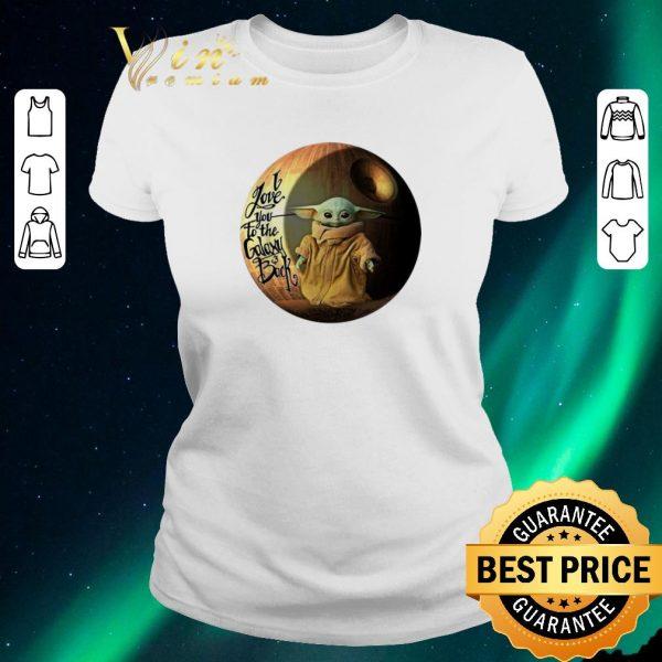 Hot Star Wars Baby Yoda i love you to the galaxy & back Mandalorian shirt sweater