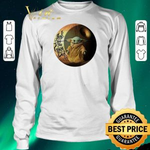 Hot Star Wars Baby Yoda i love you to the galaxy & back Mandalorian shirt sweater 2