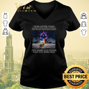 Hot Wish You Were Here Delicate Sound Of Thunder Lyrics Pink Floyd shirt sweater