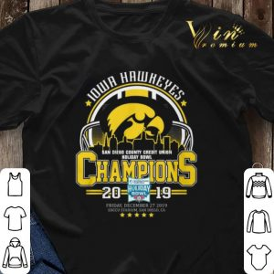 Iowa Hawkeyes San Diego County Credit Union Holiday Bowl Champs shirt sweater 2