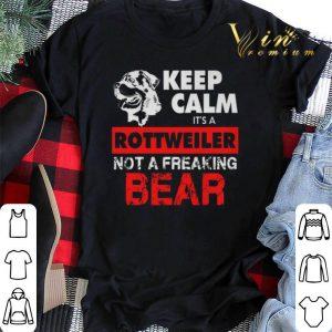 Keep calm it's a Rottweiler not a freaking bear shirt sweater 1