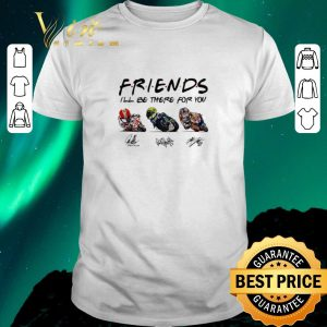 Nice Friends I'll be there for you Marco Simoncelli Valentino Rossi Nicky Hayden signature shirt sweater