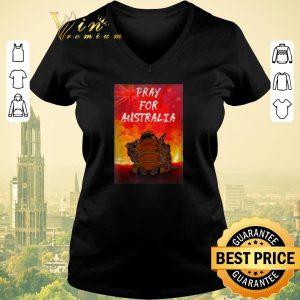 Nice Pray For Australia Firefighter Koala And Kangaroo shirt sweater 1