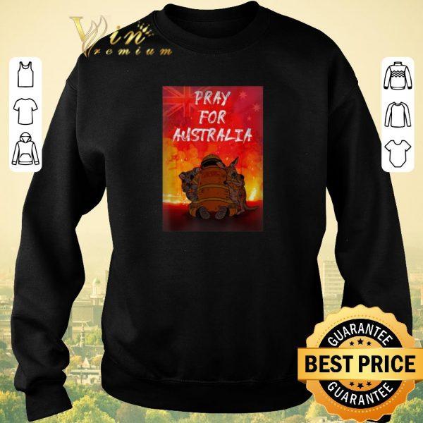 Nice Pray For Australia Firefighter Koala And Kangaroo shirt sweater