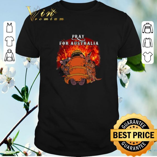 Nice Pray For Australia Wildfire Fire 2020 shirt sweater