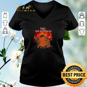 Nice Pray For Australia Wildfire Fire 2020 shirt sweater 1