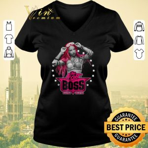 Nice WWE Sasha Banks Pink The Legit Boss shirt sweater