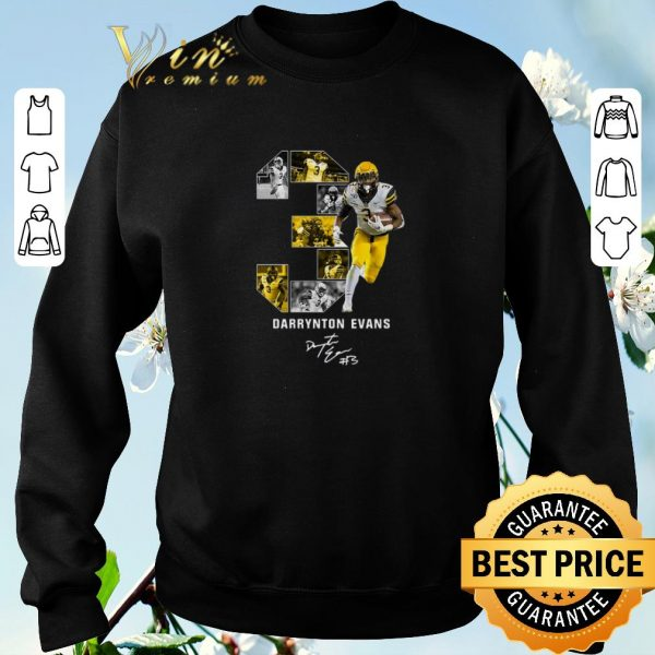 Official 03 Darrynton Evans Signature Appalachian State Mountaineers shirt sweater
