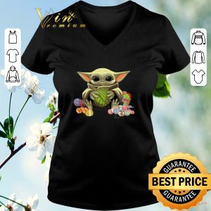 Official Baby Yoda Knitting & Crochet quilting shirt sweater 1
