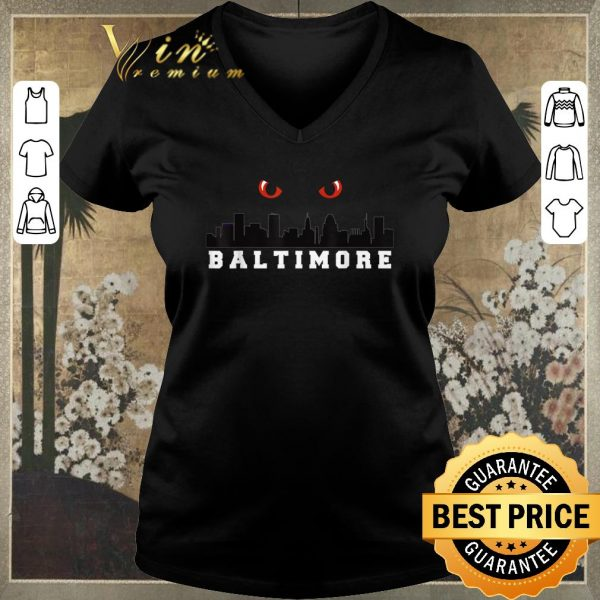 Official Baltimore Ravens Baltimore City shirt sweater
